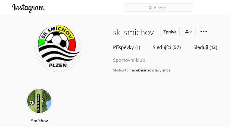 Instagram – SK Smíchov
